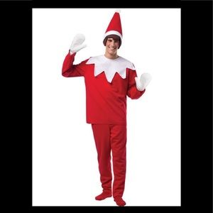 Elf on the shelf costume one size L Christmas